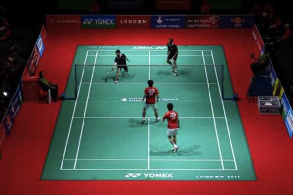 Badminton Doppel